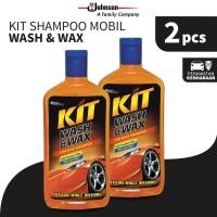Kit Paket Shampoo Mobil Wash & Wax 500mL x 2pcs
