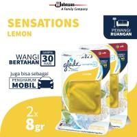 [Dapat 2 pcs] Glade Sensations Refill Lemon 8gr