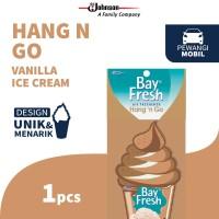 Bayfresh Hang N' Go Vanilla Ice Cream - Pengharum Mobil