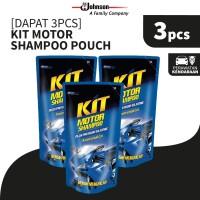 [Dapat 3 pcs] Kit Motor Shampoo Pouch 200mL