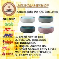 PROMO MURAH Amazon Echo Dot 3rd Gen Alexa Voice Control Smart Speaker