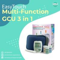 EasyTouch GCU 3in1 / Alat Cek Gula Darah, Kolesterol, Asam Urat