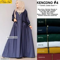NEW KENCONO #4 SUPER JUMBO MAXY GAMIS LONGDRESS BALOTELI SUPER LD 140