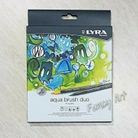 LYRA Aqua Brush Duo Pen Set 12 colors