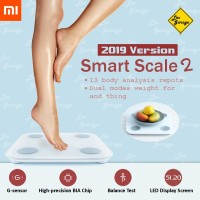 Timbangan Badan Digital Xiaomi Mi Smart Scale LED Display