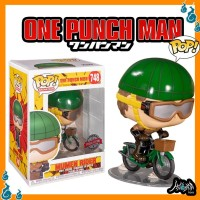 One Punch Man Mumen Rider With Bike Exclusive 748 Funko Pop Anime