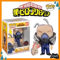 Hero Academia All For One Charged Exclusive 647 Funko Pop Anime Figure