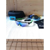 Big Sale kacamata gowes sepeda oakley radar ev black green