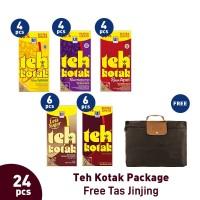 Teh Kotak Package (24pcs) Free Tas Jinjing