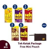 Teh Kotak Package (8pcs) Free Mini Pouch