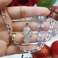 xuping set perhiasan lapis emas 24k 15a26