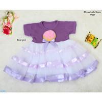 Dress Kids Nora / Baju Gaun Dress Anak /Baju Anak Balita
