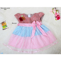 Baju Terusan Dress Anak /Baju Gaun Anak- dress kids melodi