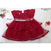 Dress Anak Balita /Fashion Anak Perempuan-dress lucy kids