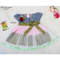 Dress Pelangi Anak /Baju Anak Perempuan Lucu -Dress kids melodi