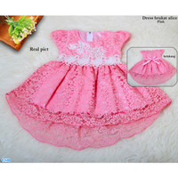 Dress Brukat Alice /Baju Anak Brokat /Fashion Anak