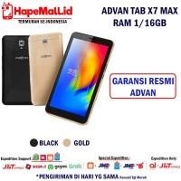ADVAN TAB VANDROID X7 MAX RAM 1/16GB GARANSI RESMI ADVAN TERMURAH