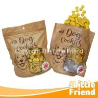 Dog Snack Cookies Biskuit Camilan Treat Kesukaan Anjing Bentuk Paws