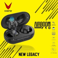 VYATTA AIRBOOM PRO TWS BLUETOOTH EARPHONE - Touch, HD, Long Battery C