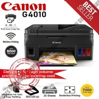 Printer Canon Pixma G4010 Print - Scan F4 - Copy - Wifi Infus