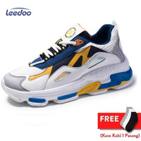 Leedoo Sepatu Sneakers Pria Sepatu Olahraga Kasual Import MD102 - 40