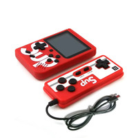 Gameboy Retro + Gamepad M1451 Games Console Game Mini Fc Portable - Merah