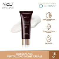 YOU Golden Age Revitalizing Night Cream 18g