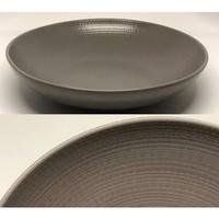 Big Pasta Brown Texture T.7.5cm - D.24.5cm | ekspor murah