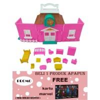 mainan anak perempuan rumah rumahan villaku OCT 2900