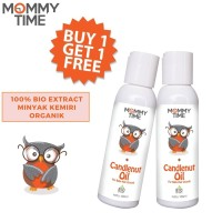 Mommy Time Candlenut Oil 100ml Buy 1 get 1 Free
