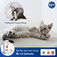 Obat anti kutu kucing anjing kelinci Vet Otic
