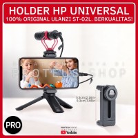 ✅ ULANZI ST-02L HOLDER HP HANDPHONE MOUNT CLIP COLD SHOE UTK TRIPOD