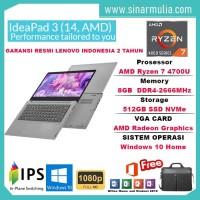 Lenovo ideapad Slim 3 AMD Ryzen 7 4700U 8GB 512GB SSD Win10+OHS