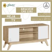 MEJA TV MINIMALIS GRAVER 2282