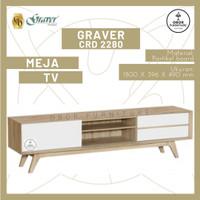 MEJA TV MINIMALIS GRAVER 2280