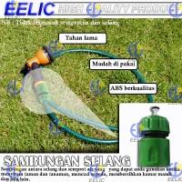 EELIC SAS-59MM sambungan selang air konektor selang 5/8 inch bahan pla