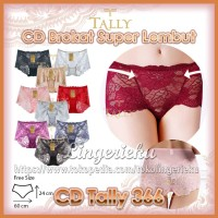 Celana Dalam Wanita Fashion Brokat Tally 366 All Size L XL XXL