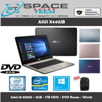 Laptop Asus X441UA - i3-8130U - 4GB - 1TB - DVD Room - 14 - Win10