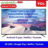 smart tv TCL 50A8 tcl 50a8 android tv 50 inch 4K android 9.0