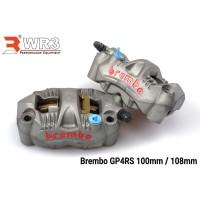 Kaliper Brembo GP4RS 108 MM Sepasang SeT Sepasang
