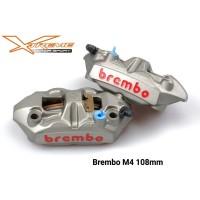 Kaliper Brembo M4 108 MM Set Sepasang DuaL OriginaL