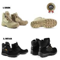 Sepatu Pria Boot Walkers Cordura Tactical Sepatu Safety Ujung Besi