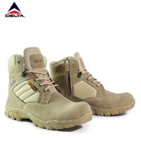 Sepatu Safety Pria Walkers Cordura 6inci Sepatu Boots Ujung Besi