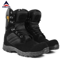 Sepatu PDL Boots Walkers Cordura 8inci Fashion Pria bikers Ujung Besi