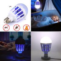 LED Mosquito Killer Bulb Lampu Pembasmi Nyamuk Dan Serangga