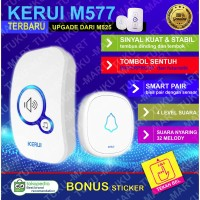 Bel Rumah Wireless Door Bell Waterproof Pintu 1 Receiver