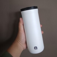 Tumbler Starbucks Stainless Limited Edition White Tall
