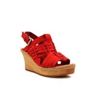 WEDGES Elenoir - Red 8cm