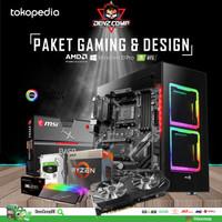 GAMING PC - AMD RYZEN 5 3600 (GALAX RTX 2070 Super EX) - 16GB - 512GB