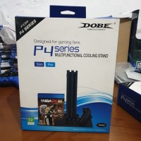 Dobe vertical stand/cooling fan/cooling stand ps4